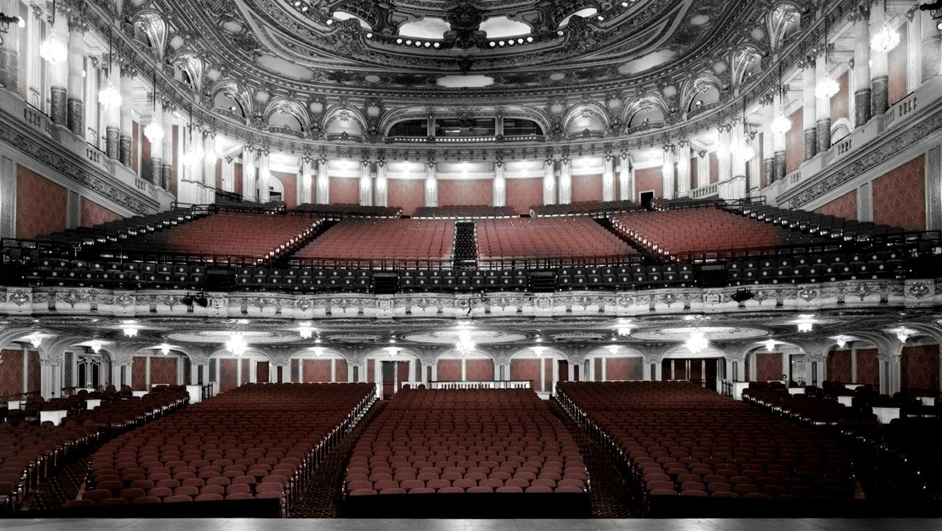 Photo of seats at the Citizens Bank Opera House